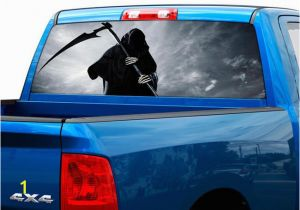 Pickup Truck Rear Window Murals Rear View Window Decals