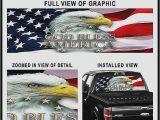 Pickup Truck Rear Window Murals Rear Window Decals for Trucks – Bio Kinder