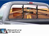 Pickup Truck Rear Window Murals Truck Rear Window Graphics