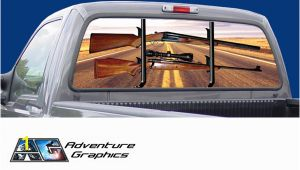 Pickup Truck Rear Window Murals Truck Rear Window Graphics