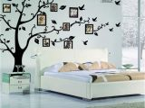 Picture Frame Wall Mural Family Diy Tree Flying Birds Tree Wall Stickers