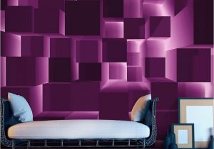 """Pictures Into Wall Murals Beautiful and Stunning This Large Wallpaper Mural """" Purple"""