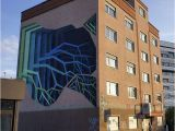 Pictures Of Murals On Buildings Street Artist Spray Paints Boring Buildings with Optical Illusions