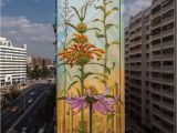 Pictures Of Murals On Buildings Weeds Mona Caron Beautiful Blooming Series Of Artivist Plant