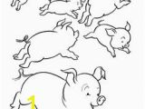 Pig On A Farm Coloring Page 128 Best Coloring Farm Animals Images