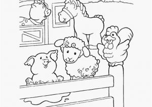 Pig On A Farm Coloring Page Pig A Farm Coloring Page Farm Animal Coloring Page Barn Yard Pigs