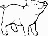 Pig Printable Coloring Pages Pig Smells something Coloring Page