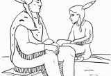 Pilgrim and Indian Coloring Pages Thanksgiving Pilgrims Coloring Pages