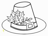 Pilgrim Hat Coloring Page 9849 Autumn Free Clipart 95