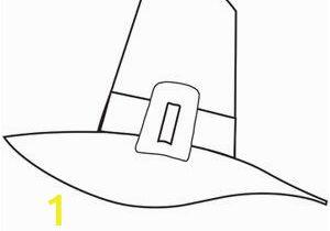 Pilgrim Hat Coloring Page Printable Thanksgiving Coloring Pages Pilgrim Hat Via