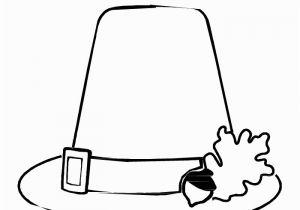 Pilgrim Hat Coloring Page Thanksgiving Mask Pilgrim Man