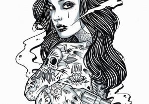 Pin Up Girl Coloring Pages for Adults Pin On Boredom