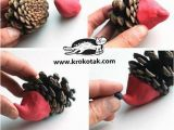 Pine Cone Coloring Page Christmas Decoration with Pine Cones Wonderful Diy Craft