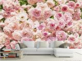 Pink Rose Wall Mural Custom Size 3d Wallpaper Living Room Mural Pink Rose Flower 3d Picture sofa Tv Backdrop Mural Home Decor Creative Hotel Study Wallpape Download