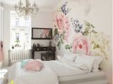 """Pink Rose Wall Mural Roses and Sparkles 8 X 118"""" 6 Piece Wall Mural Set"""
