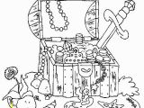 Pirate Coloring Pages for Kids Printable Pirate Treasure Chest Piraten