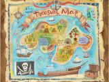 Pirate Map Wall Mural Children S Wall Mural Treasure Map