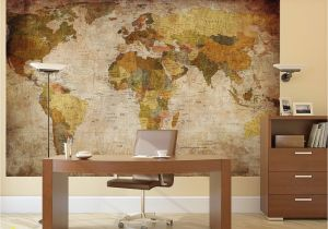 Pirate Map Wall Mural Details About Vintage World Map Wallpaper Mural Giant