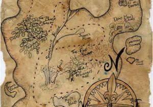 Pirate Map Wall Mural Pirate Treasure Map