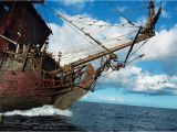 Pirate Ship Wall Mural Murals Caribbean Pirate Ship Background Wallpaper W