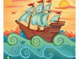 Pirate Ship Wall Murals Pirate Ship Canvas Art Canvas Ideas