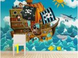 Pirate Ship Wall Murals Sticky Kids Wallpapers