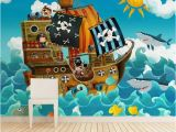 Pirate Wallpaper Murals Wallpaper Sticker Pirates by Sticky Wallpaper