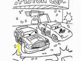 Piston Cup Coloring Page the Piston Cup Race1 Beautiful Coloring Page Stock Printable
