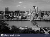 Pittsburgh Skyline Wall Mural Pittsburgh Black and White Stock S & Alamy
