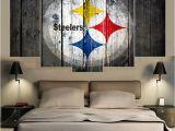Pittsburgh Steelers Wall Murals Sport Pittsburgh Steelers Logo Print Painting Wall Art