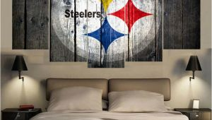 Pittsburgh Steelers Wall Murals Sport Pittsburgh Steelers Logo Print Painting Wall Art