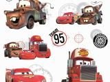 Pixar Cars Wall Mural Roommates Rmk2614slv Disney Pixar Cars Team 95 Peel & Stick Wall
