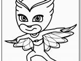 Pj Mask Cartoon Coloring Pages 🎨 Colour In Owlette From Pj Masks Kizi Free Coloring