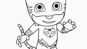 Pj Mask Coloring Pages Free Printable Pin On Example Cartoons Coloring