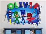 Pj Mask Wall Mural 93 Best Pj Mask B Day Images