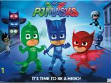 Pj Mask Wall Mural Pj Masks Hero Poster Premium Unframed