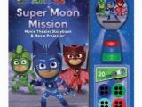 Pj Mask Wall Mural Pj Masks Super Moon Mission Movie theater