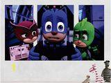 Pj Masks Wall Mural Amazon Pj Masks Gekko Catboy Owlette Adventure 3d