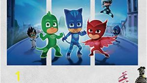 Pj Masks Wall Mural Amazon Pj Masks Gekko Catboy Owlette Battle 3d Sticker