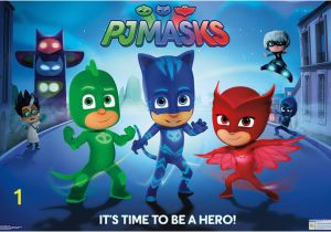 Pj Masks Wall Mural Pj Masks Hero Poster Premium Unframed