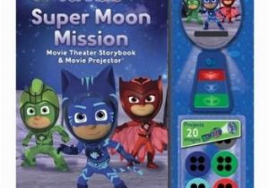 Pj Masks Wall Mural Pj Masks Super Moon Mission Movie theater