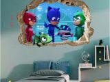 Pj Masks Wall Mural Pj Masks Wall Sticker Wall Decal Stickers Children Kids 3d Art Wall Decals 50cmx70cm Pj Masks Wall Decals Pj Masks Wall Decals