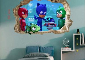 Pj Masks Wall Mural Pj Masks Wall Sticker Wall Decal Stickers Children Kids 3d Art Wall Decals 50cmx70cm Pj Masks Wall Decals Pj Masks Wall Decals