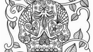 Plain Skull Coloring Pages 252 Best Skulls Images