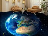 Planet Earth Wall Mural 3d Earth 206 Floor Mural Aj Wallpaper In 2019