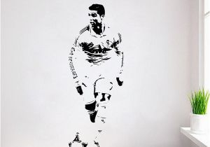 Play Ball Wall Mural Cristiano Ronaldo Wall Decal Sticker Cr7 Footballer soccer Wall Art Decor Cheap Wall Murals and Decals Cheap Wall Sticker From Glenae $37 19