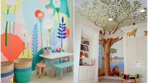 Playroom Wall Mural Ideas Cover A Wall with A Creative Mural