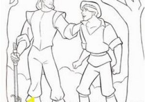 Pocahontas 2 Coloring Pages Pocahontas and John Smith Falls Coloring Pages