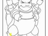 Pokemon Buneary Coloring Page Blastoise Coloring Page
