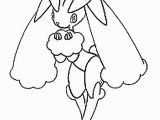 Pokemon Buneary Coloring Page Lopunny Pokemon Coloring Page More Pokemon Coloring Sheets On